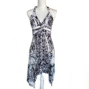 Christina Love Halter Beach Dress Sz L